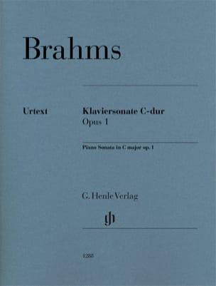 Sonate pour piano n° 1 Opus 1 - Johannes Brahms - laflutedepan.com