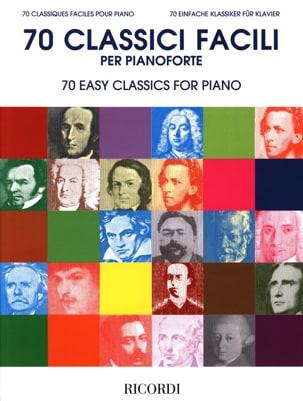 - 70 Classiques faciles pour piano - Partition - di-arezzo.ch