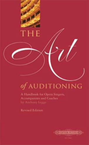 Anthony Legge - The Art of Auditioning - Sheet Music - di-arezzo.com