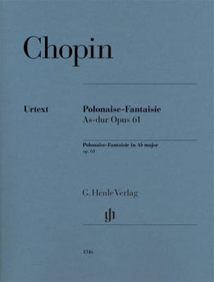 CHOPIN - Polacco-Fantasy in un piatto Major Opus 61 - Partitura - di-arezzo.it