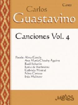 Carlos Guastavino - Canciones Volume 4 - Sheet Music - di-arezzo.co.uk
