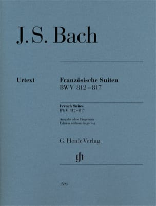 BACH - French Suites BWV 812-817 - Sheet Music - di-arezzo.com