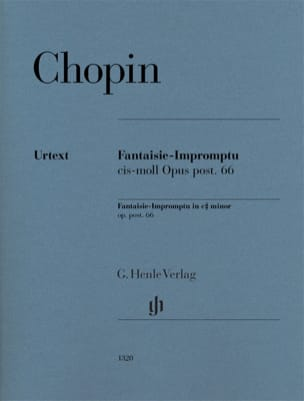 CHOPIN - Fantaisie-Impromptu in C sharp minor opus posthumous 66 - Urtext Edition - Sheet Music - di-arezzo.com