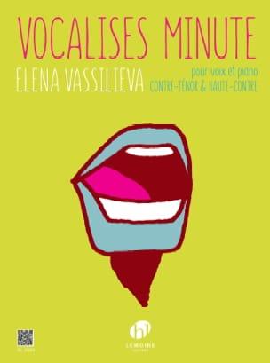 Elena Vassilieva - Minutos de Vocalises - Contraste de voz o contador alto y piano - Libro - di-arezzo.es