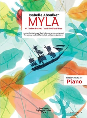 Isabelle Aboulker - Myla and the boat-tree - Sheet Music - di-arezzo.com