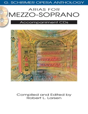 - Opera Anthology: Arias for Mezzo. Accompaniment 2 CDs - Sheet Music - di-arezzo.com