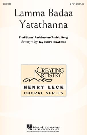 - Lama Badaa Yatathanna - Sheet Music - di-arezzo.co.uk