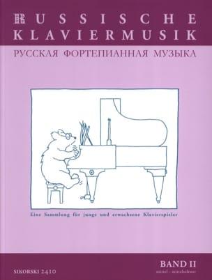 Russische Klaviermusik Volume 2 Partition Piano - laflutedepan