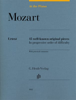 MOZART - Mozart, At The Piano - Partition - di-arezzo.fr