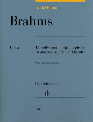Brahms, At The Piano BRAHMS Partition Piano - laflutedepan
