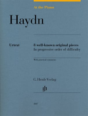HAYDN - Haydn, At The Piano - Edition Urtext - Partition - di-arezzo.fr