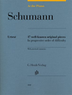 Schumann, At The Piano SCHUMANN Partition Piano - laflutedepan