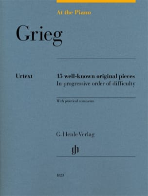 Edward Grieg - Grieg, At The Piano - Partition - di-arezzo.fr