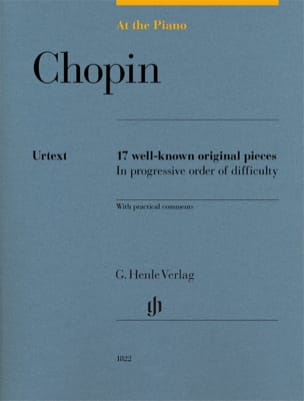 Frédéric Chopin - Chopin, At The Piano - Edition Urtext - Partition - di-arezzo.fr