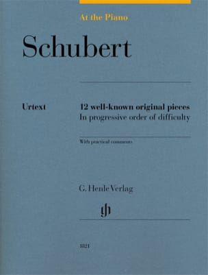 SCHUBERT - Schubert, At The Piano - Urtext Edition - Sheet Music - di-arezzo.co.uk