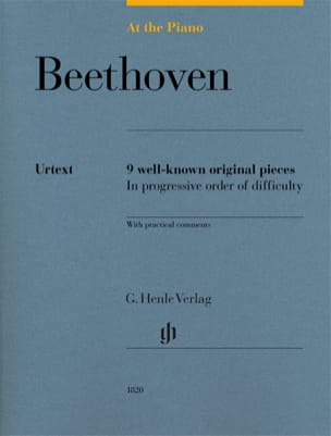 BEETHOVEN - Beethoven, At The Piano - Partition - di-arezzo.fr