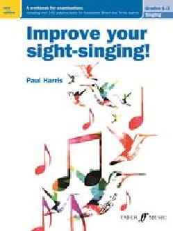 Improve your sight-singing. Grades 1-3 Paul Harris Livre laflutedepan