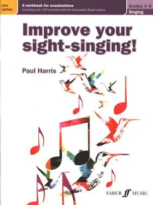 Improve your sight-singing. Grades 4-5 Harris Paul Livre laflutedepan