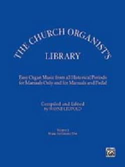 - The Church Organist Library Book. 1 - Partition - di-arezzo.fr