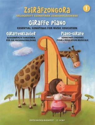 Piano-girafe. Volume 1 - Partition - di-arezzo.fr
