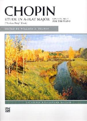 Etude en la bémol majeur op. 25-1 - Frédéric Chopin - laflutedepan.com