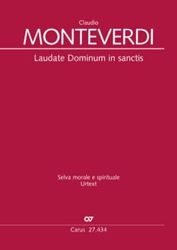 Claudio Monteverdi - Laudate Dominum in Sanctis SV 287 - Partition - di-arezzo.co.uk