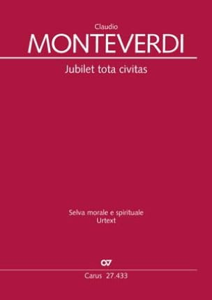 Claudio Monteverdi - Jubilet tota civitas SV 286 - Partition - di-arezzo.co.uk