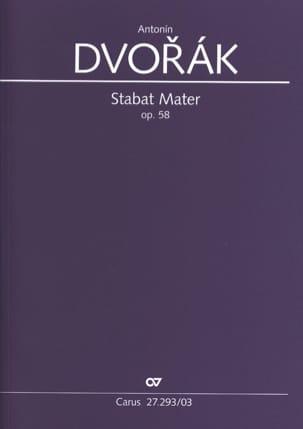 Stabat Mater Opus 58 - Anton Dvorak - Partition - laflutedepan.com