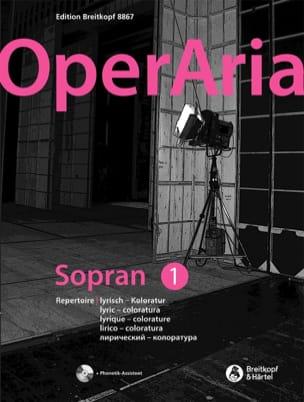 - OperAria Soprano - Volume 1 - Partition - di-arezzo.fr