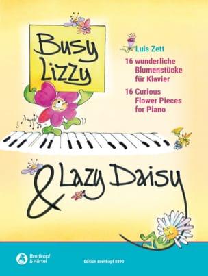 Zett Luis - Busy Lizzy & Lazy Daizy - Partition - di-arezzo.fr