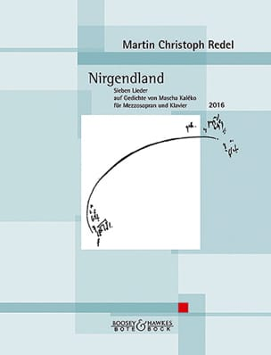 Martin Christophe Redel - Nirgendland Opus 87 - Partition - di-arezzo.fr