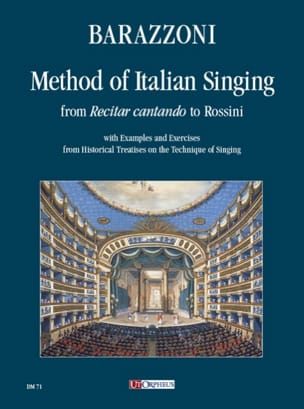 Method of Italian Singing Maurizia Barazzoni Partition laflutedepan