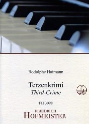 Rodolphe Haimann - Terzenkrimi - Partition - di-arezzo.fr