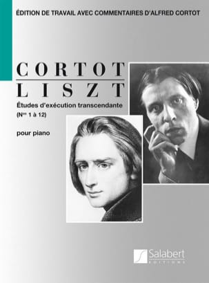 Franz Liszt - Transcendental Execution Studies - Sheet Music - di-arezzo.co.uk