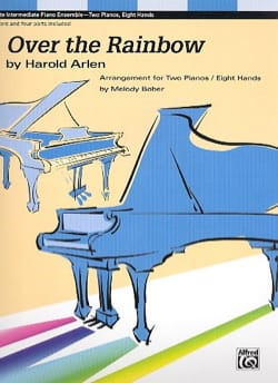 Harold Arlen - Over the Rainbow. 2 Pianos 8 mains - Partition - di-arezzo.fr