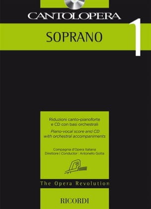 - Cantolopera. Soprano 1 - Sheet Music - di-arezzo.co.uk