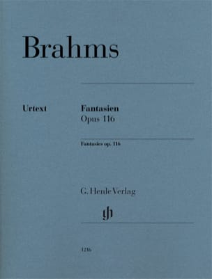 Fantaisies op.116 BRAHMS Partition Piano - laflutedepan