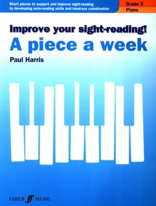 Paul Harris - A piece a week. Volume 3 - Sheet Music - di-arezzo.com