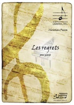 Les regrets Christian Pezza Partition Piano - laflutedepan