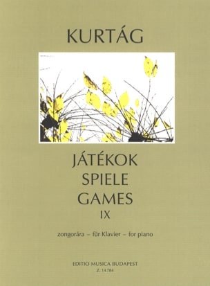 György Kurtag - Jatekok Volume 9 - Sheet Music - di-arezzo.co.uk