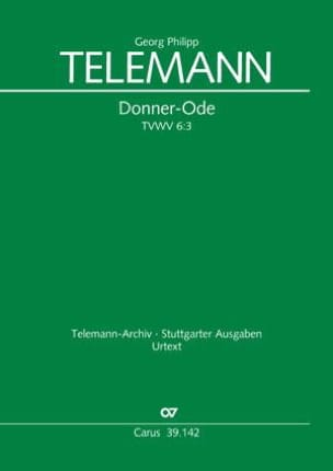 TELEMANN - Give-Ode Tvwv 6: 3 - Sheet Music - di-arezzo.com