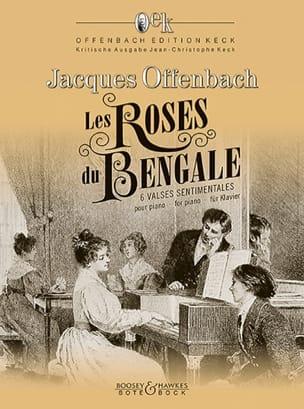 Les Roses de Bengale Jacques Offenbach Partition Piano - laflutedepan