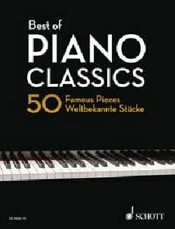 Best of Piano Classics - Edition Reliée Partition laflutedepan