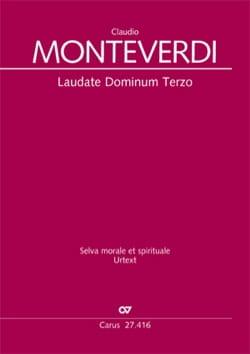 Laudate Dominum Terzo SV 274 - MONTEVERDI - laflutedepan.com