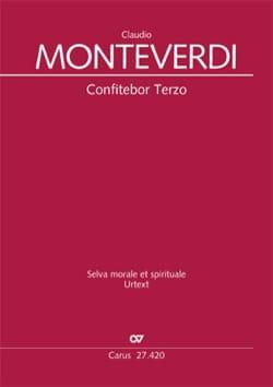 Claudio Monteverdi - Confitebor Terzo SV 267 - Partition - di-arezzo.fr