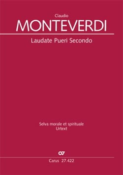 Claudio Monteverdi - Laudate Pueri Secondo SV 271 - Partition - di-arezzo.fr