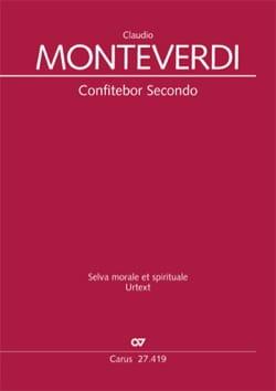 Claudio Monteverdi - Confitebor Secondo SV 266 - Partition - di-arezzo.fr