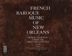 Musique française baroque à la Nouvelle-Orléans - Partition - di-arezzo.fr