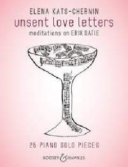 Unsent love letters Kats-Chernin Elena Partition Piano - laflutedepan