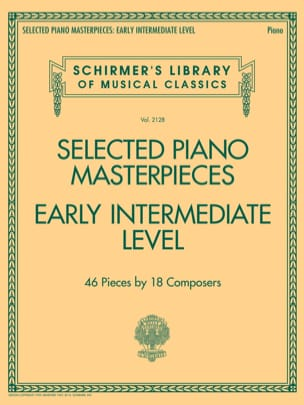 Selected Piano Masterpieces. Early Intermediate Level - Partition - di-arezzo.fr